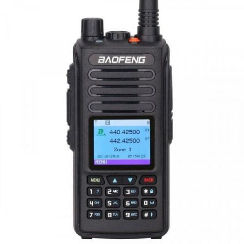 Цифровая рация Baofeng DM-1702 GPS Tier I &II с гарнитурой в комплекте в Казани