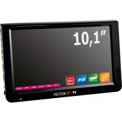Телевизор портативный DVB-T2 Vector VTV-1000 в Казани